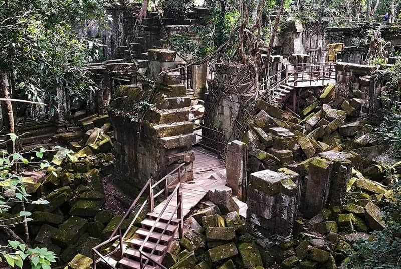 Beng Mealea Temple Guide