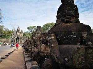 Demons at Angkor Thom