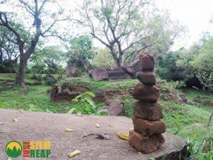 Pile of Stones at Ak Yum