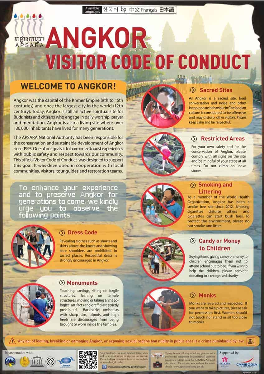 Angkor Code of Conduct - English