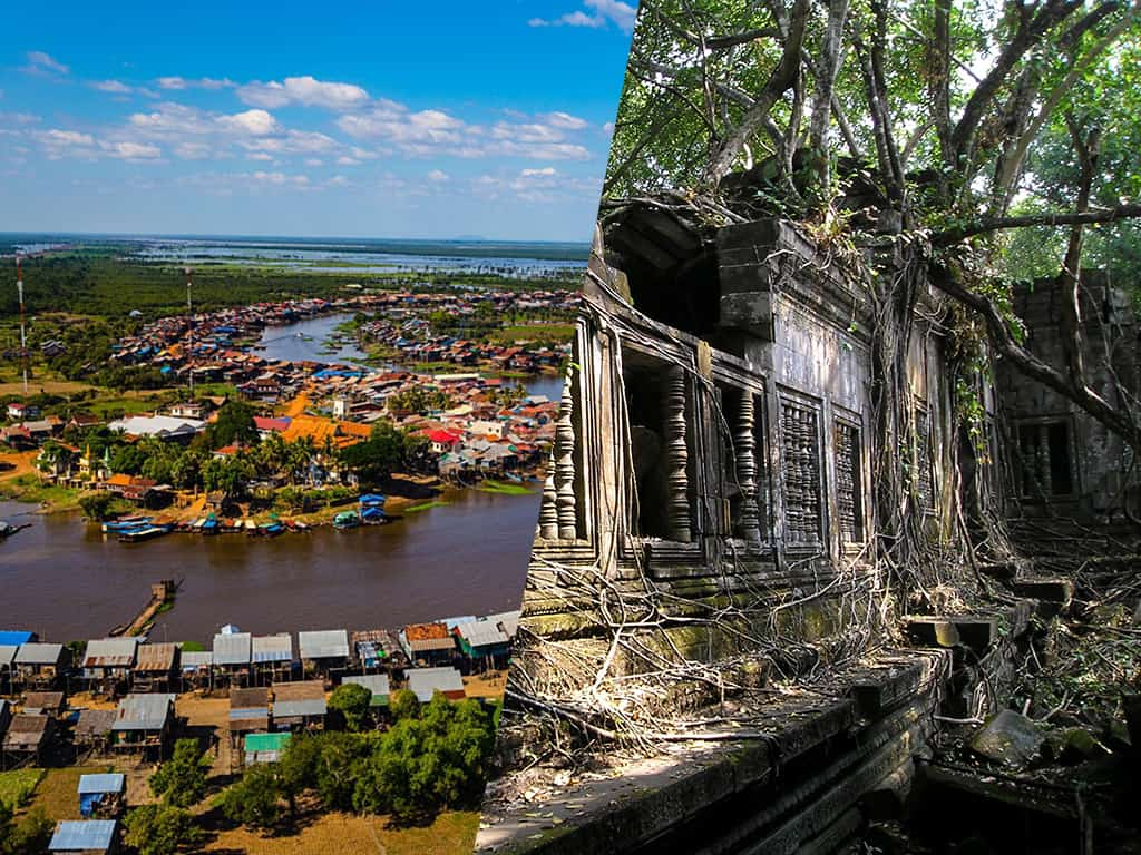 Beng Mealea and Kampong Khleang Tour