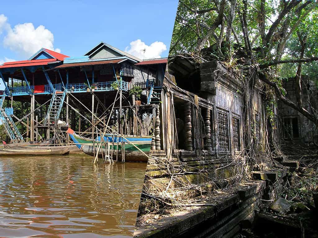 Beng Mealea and Kampong Phluk Tour